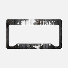 Italy Map License Plate Holder