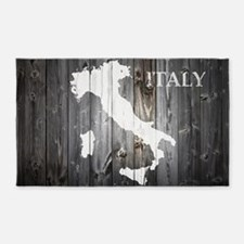 Italy Map Area Rug