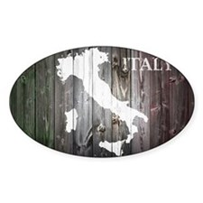 Italy Map Decal