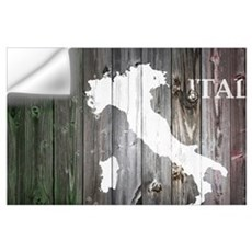 Italy Map Wall Decal