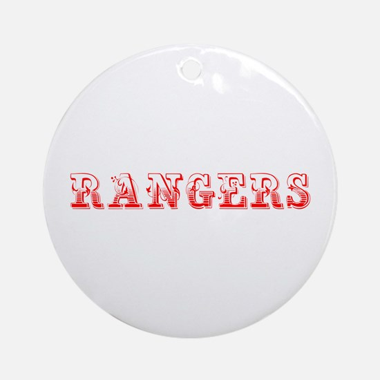 Rangers-Max red 400 Ornament (Round)