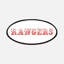 Rangers-Max red 400 Patch
