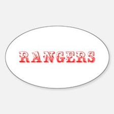 Rangers-Max red 400 Decal