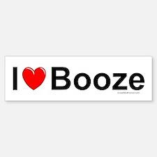 Booze Bumper Bumper Sticker