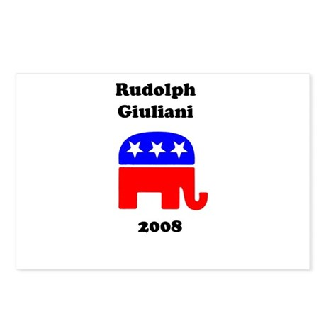 Rudolph Giuliani Postcards (Package of 8)