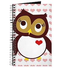 Owl Love You w/ Heart Pattern Journal