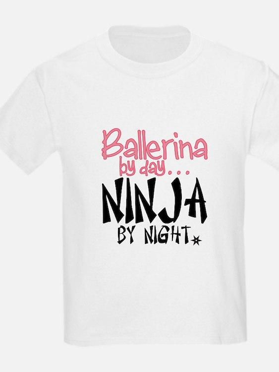 Ballerina By Day Ninja By Night T-Shirt