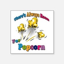 "Always Room Square Sticker 3"" x 3"""