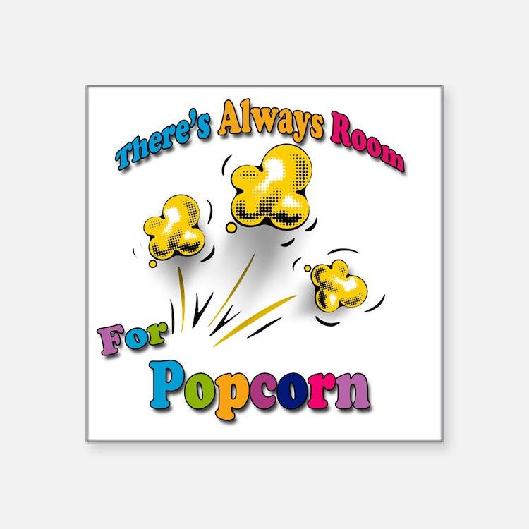 "Always Room Square Sticker 3"" x 3"""