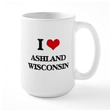 I love Ashland Wisconsin Mugs