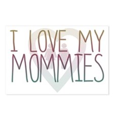 I LOVE MY MOMMIES Postcards (Package of 8)