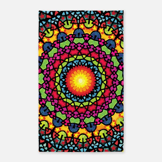 Warmth of a Thousand Suns Area Rug