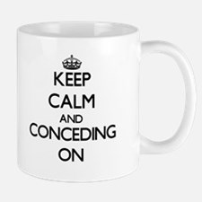 Keep Calm and Concealing ON Mugs
