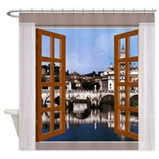 Unique Tiber Shower Curtain
