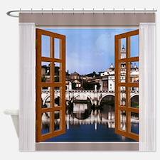 Cute Tiber Shower Curtain