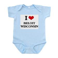 I love Beloit Wisconsin Body Suit