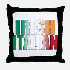Irish Italian Throw Pillow