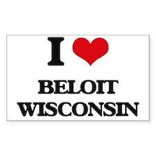 I love Beloit Wisconsin Decal