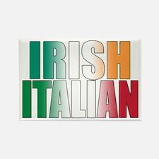 Irish Italian Rectangle Magnet