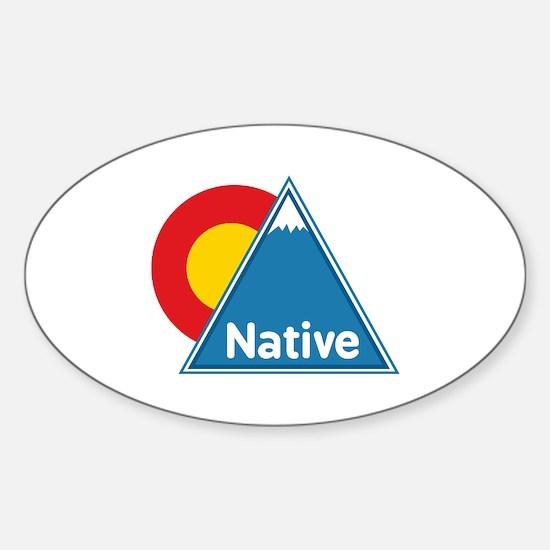 Colorado Native Sticker (Oval)