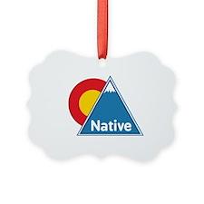 Colorado Native Ornament