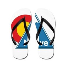 Colorado Native Flip Flops