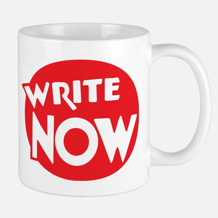 Write Now Mug