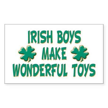 Irish Boys Rectangle Sticker