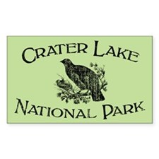Crater Lake National Park (Grouse) Decal