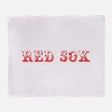 red sox-Max red 400 Throw Blanket