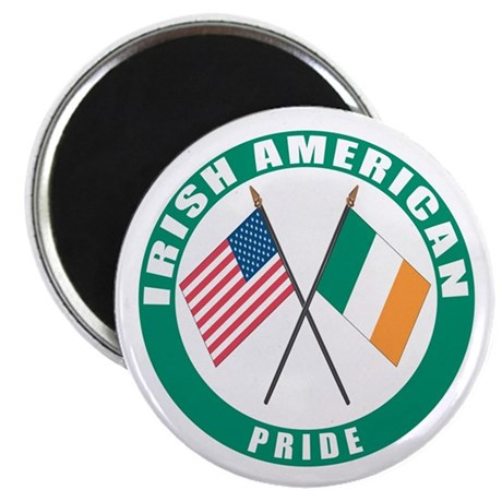 "Irish American pride 2.25"" Magnet (100 pack)"