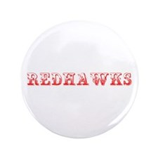 """Redhawks-Max red 400 3.5"""" Button (100 pack)"""