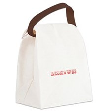 Redhawks-Max red 400 Canvas Lunch Bag