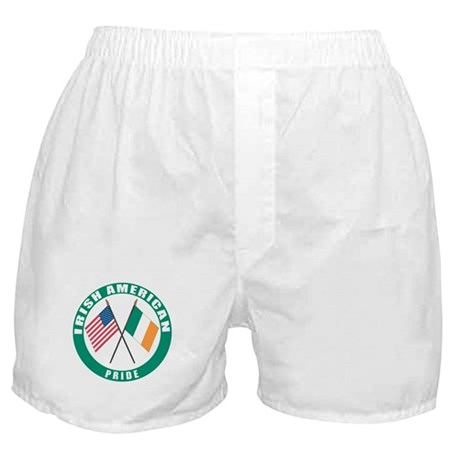 Irish American pride Boxer Shorts