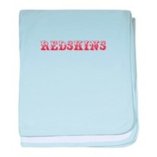 Redskins-Max red 400 baby blanket