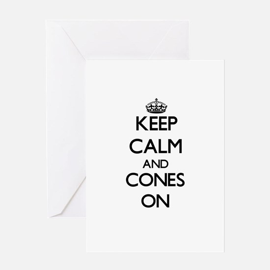 Keep Calm and Condos ON Greeting Cards