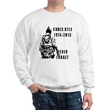 Christ Kyle Never Forget Sweatshirt