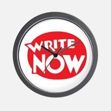 Write Now Wall Clock