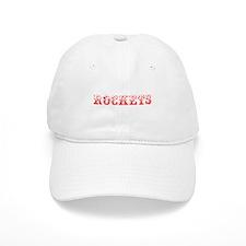 Rockets-Max red 400 Baseball Baseball Cap