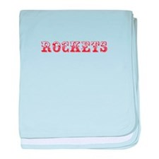 Rockets-Max red 400 baby blanket