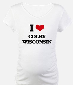 I love Colby Wisconsin Shirt