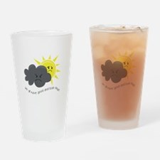 Good and Bad Drinking Glass