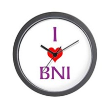 Wall Clock - I Love Bni