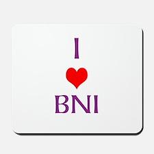 Mousepad - I Love Bni