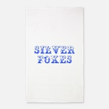 Silver Foxes-Max blue 400 Area Rug