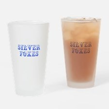 Silver Foxes-Max blue 400 Drinking Glass