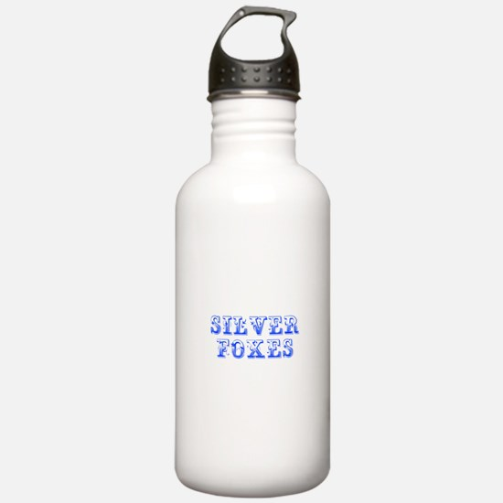 Silver Foxes-Max blue 400 Water Bottle