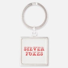 Silver Foxes-Max red 400 Keychains