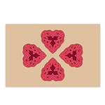 Chante Heartknot Postcards (Package of 8)