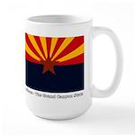 Arizona Flag Large Mug